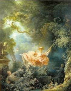 """""""El columpio"""", pintada por Jean Honoré Fragonard en 1767"""